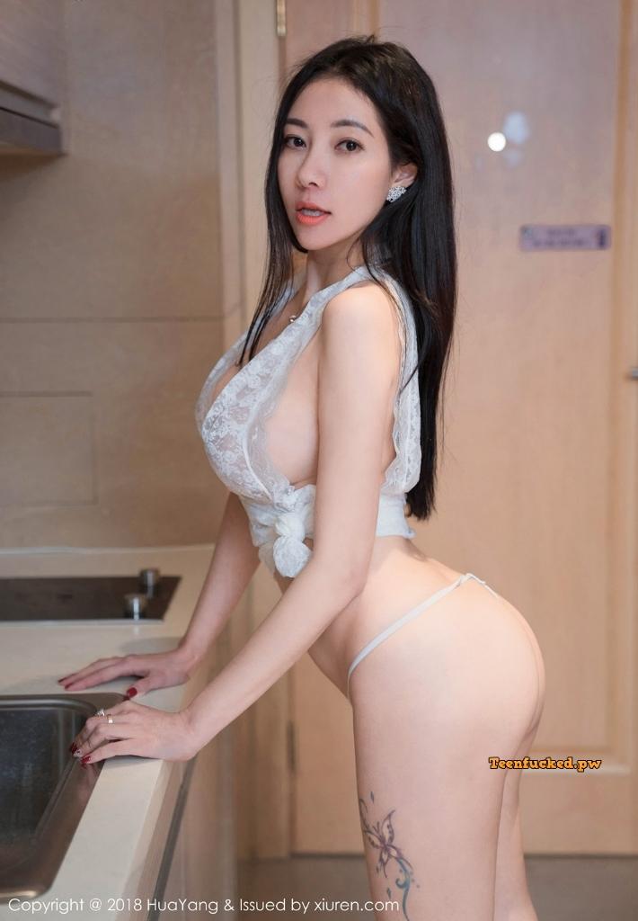 HuaYang 2018 10 23 Vol.090 Victoria Guo Er MrCong.com 030 wm - HuaYang Vol.090: Người mẫu Victoria (果儿) (43 ảnh)