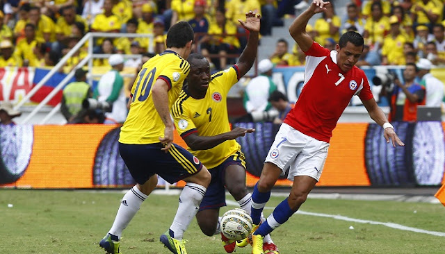 Colombia vs Chile en vivo Semifinal Copa America