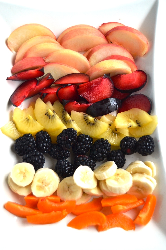 Fresh summer fruit
