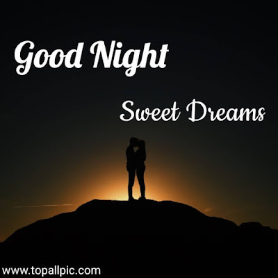 wishes Good Night Sweet Dreams Images for couple love