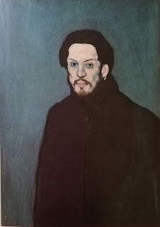 Картины Пикассо голубой период