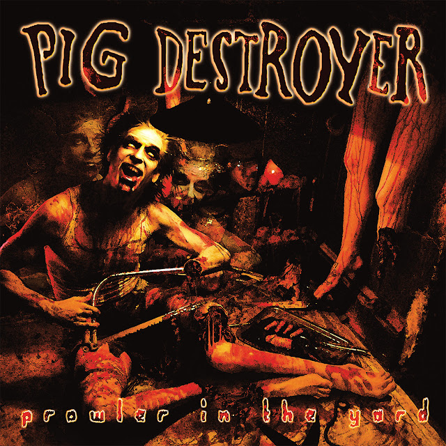 pig destroyer grindcore band, prowler in the yard, interview with le scribe du rock, blog rock, blog metal