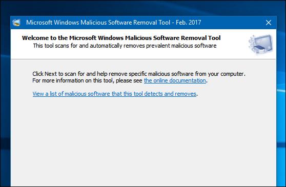 كيفية-استخدام-أداة-إزالة-البرامج-الخبيثة-المدمجة-في-الويندوز-لحماية-الكمبيوتر