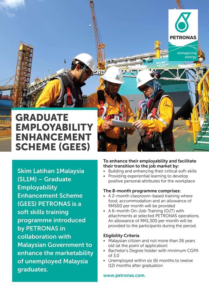 Permohonan Skim Latihan 1Malaysia (SL1M) Petronas