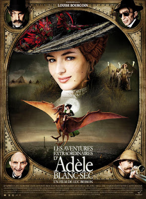 The Extraordinary Adventures Of Adele Blanc-sec 2010 Dual Audio Hindi 720p BluRay 850MB