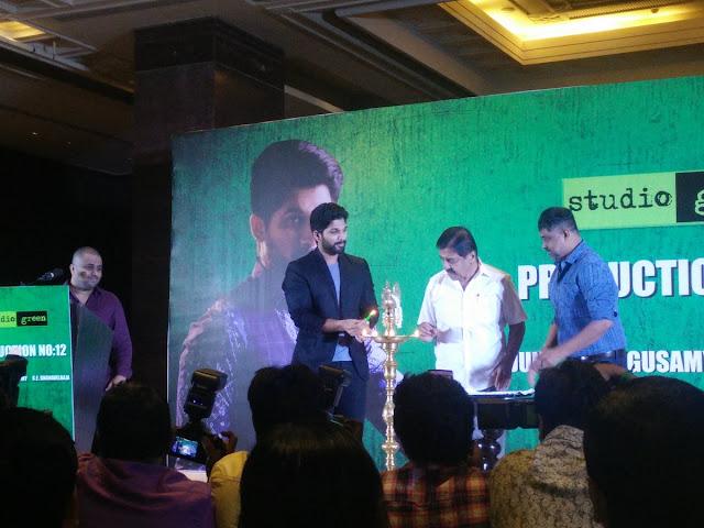 allu arjun new tamil movie launch photos