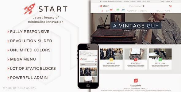 Fashion Store Website Template 2015