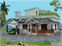 Budget 2 Bedroom Home - Kerala Design And Floor Plans