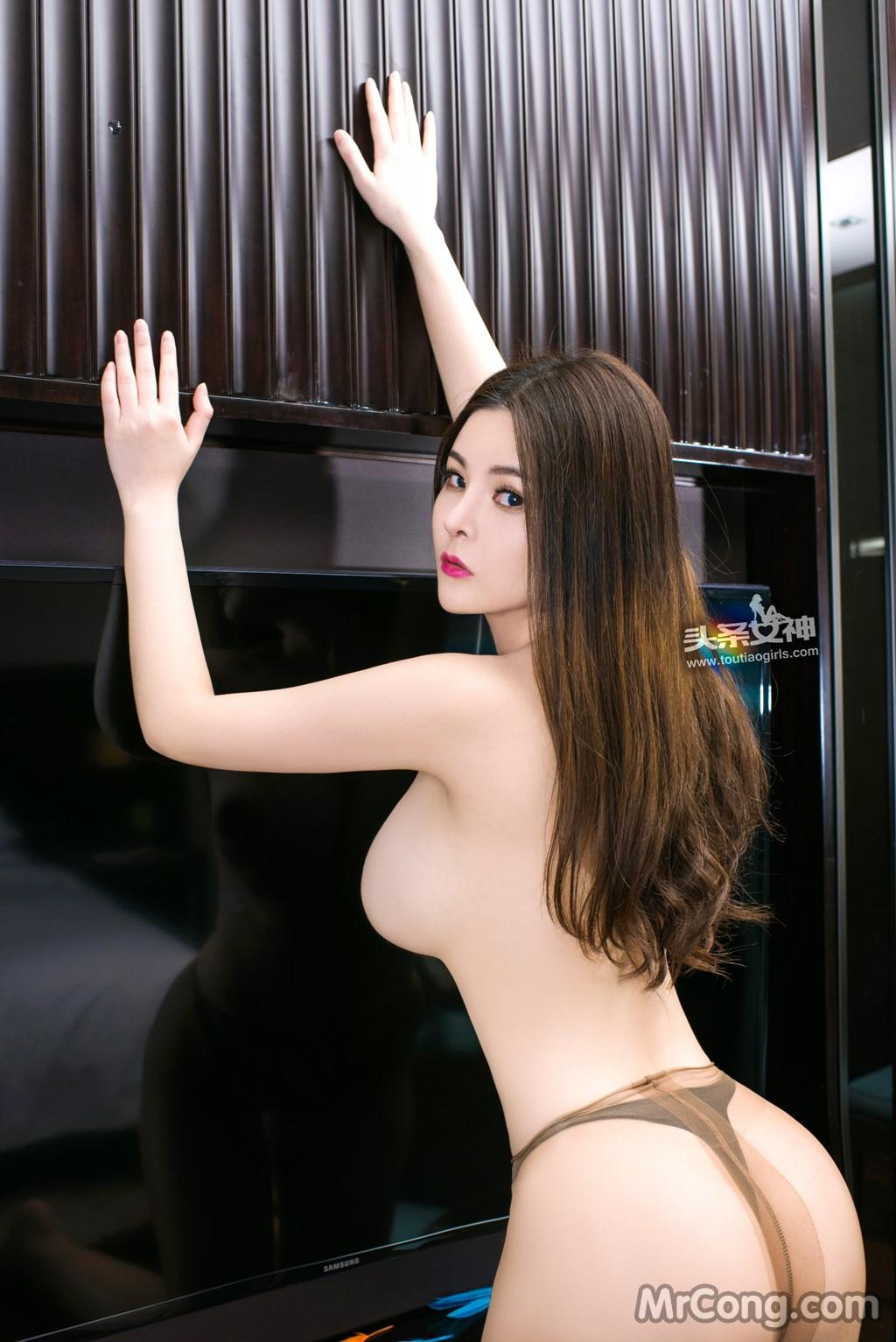 Image MrCong.com-TouTiao-2017-02-11-Tong-An-Qi-018 in post TouTiao 2017-02-11: Người mẫu Tong An Qi (童安琪) (27 ảnh)