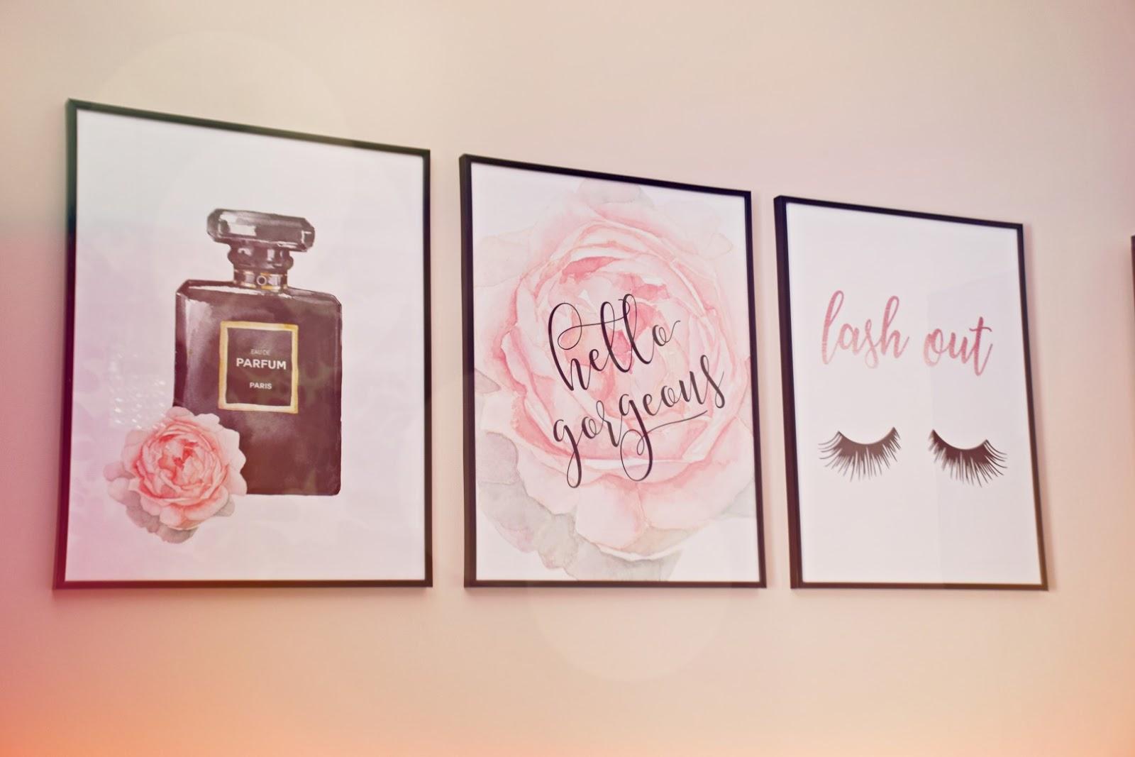 aliexpress_plakaty_do_sypialni_kobiece_różowe_kosmetyczne_urodowe