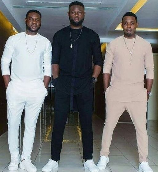 AY and His Two Brothers Lanre & Yomi Casual