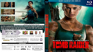 CARATULA BLURAY - TOMB RAIDER 2018 [COVER CARATULA ]