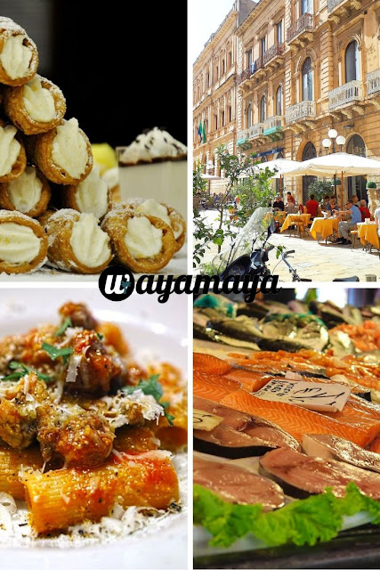 Sicilian food, seafood and restaurant | Sicily, Italy | wayamaya