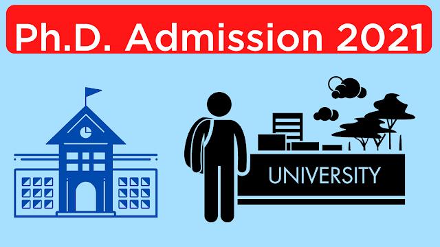 Ph.D. Admission 2021