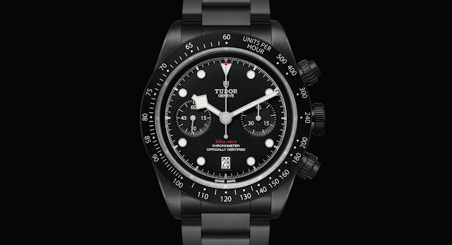 Tudor Black Bay Chrono Dark All Blacks