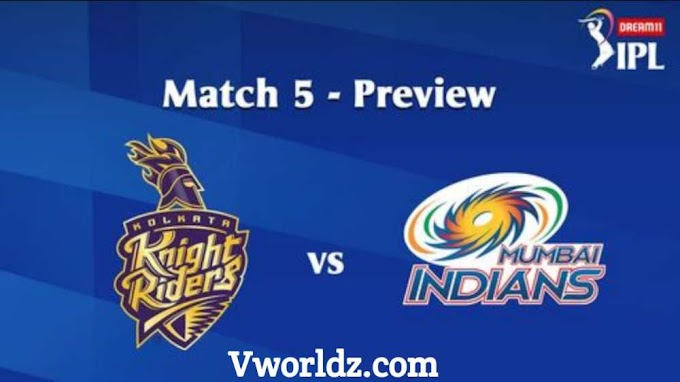 IPL 2020 MATCH 5: KKR VS MI - PREVIEW Fantasy Picks