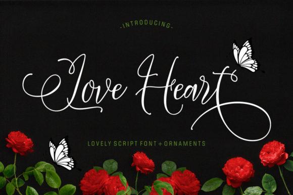 Love Heart Font