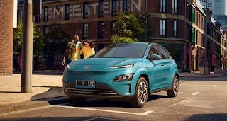 mobil listrik hyundai kona electric, mobil listrik, mobil listrik hyundai