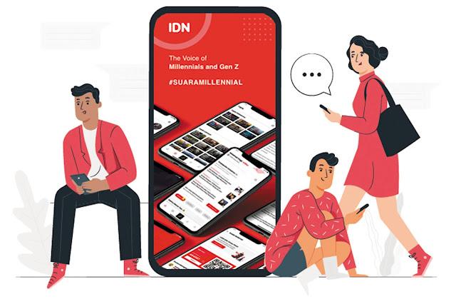 IDN App aplikasi berita milenial
