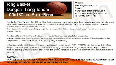 ring basket tiang tanam area jabodetabek