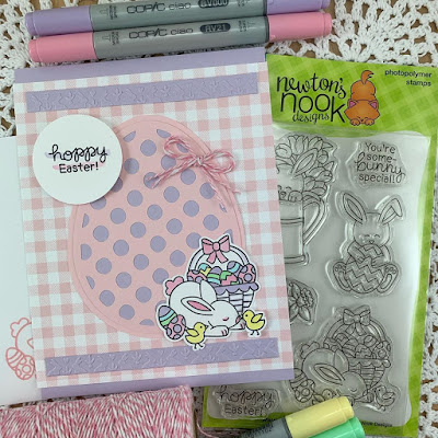 Hoppy Easter by Beverly features Hop Into Spring by Newton's Nook Designs; #newtonsnook