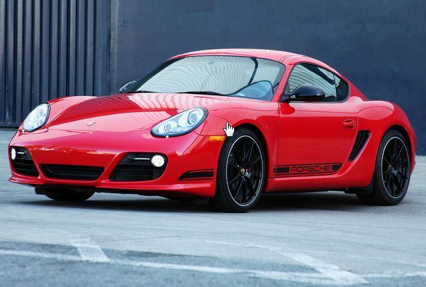 2012 Porsche Cayman R