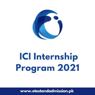 ICI Summer Internship Program 2021