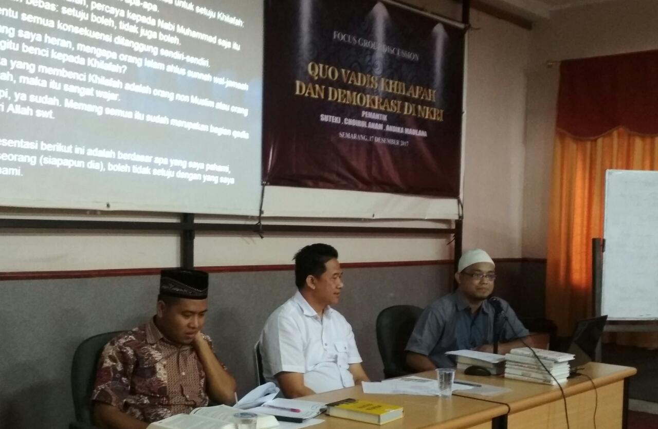 Diskusi Khilafah Semarang