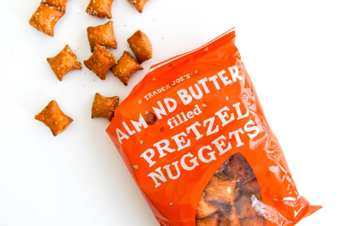 Trader Joe's Almond Butter Filled Pretzel Nuggets review