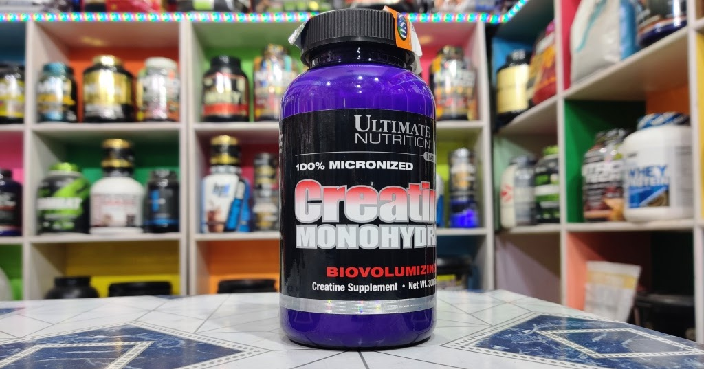 Ultimate Nutrition Creatine Monohydrate 300 G 60 Serving Ncr Food Supplements