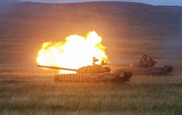 Latihan militer Vostok 2018 Rusia