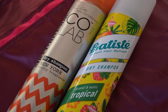 Colab Dry Shampoo vs Batiste Dry Shampoo