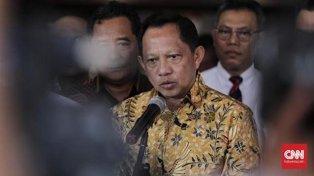 Sampaikan Pidato di Depok, Tito Karnavian: Air Wudhu Tidak Membunuh Virus Corona