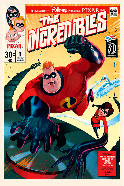 The Incredibles Mondo poster by Stan and Vince