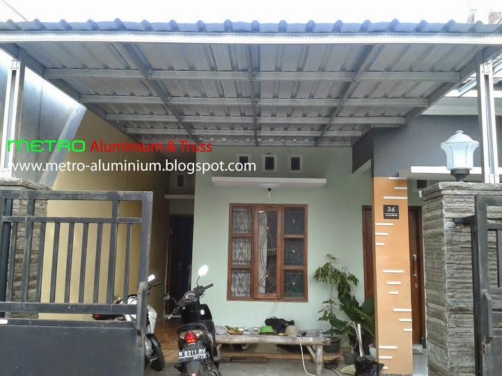 kanopi baja galvanis jasa pemasangan canopy ringan (car port - teras rumah ...