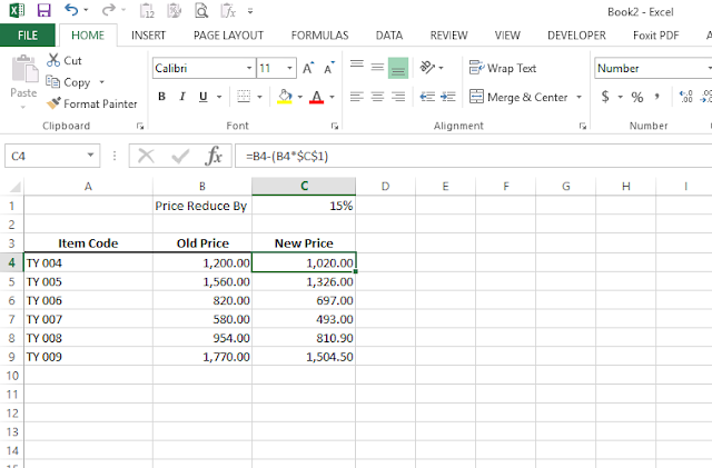 How to set a cost reduction method?