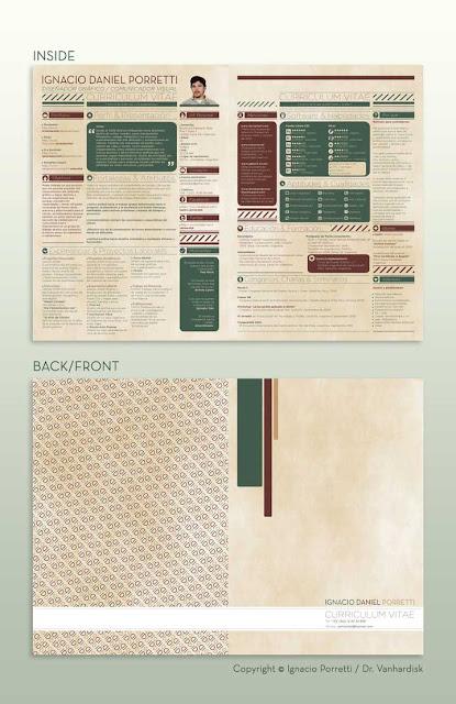 diseño de curriculum vitae ejemplos