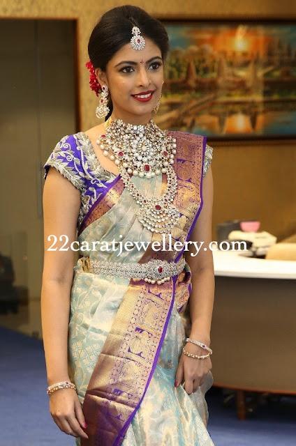 diamond necklace from chandbhai