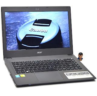 Laptop Gaming Acer E5-473G Core i5 NVIDIA