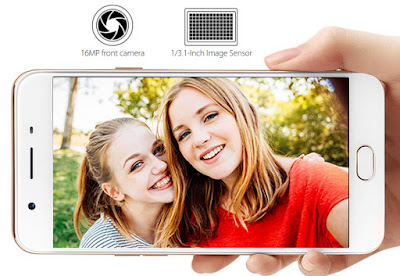 OPPO F1s Now Official, Sports 16MP f/2.0 Selfie Shooter