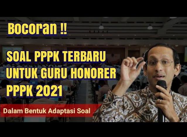 Bocoran Contoh Soal Integritas Yang Akan Muncul Pada Seleksi Kompetensi Pppk 2021