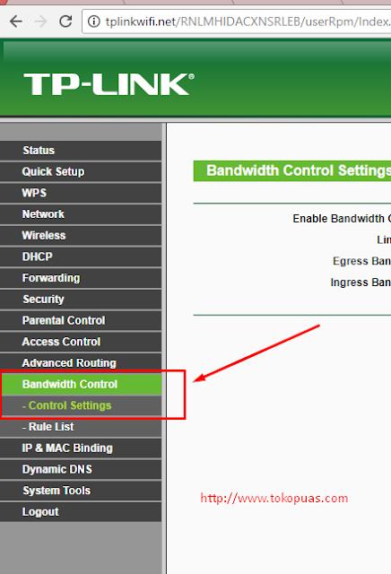 cara mudah membatasi kuota internet wifi