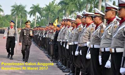 Pengumuman seleksi calon anggota POLRI
