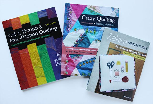 three sewing books