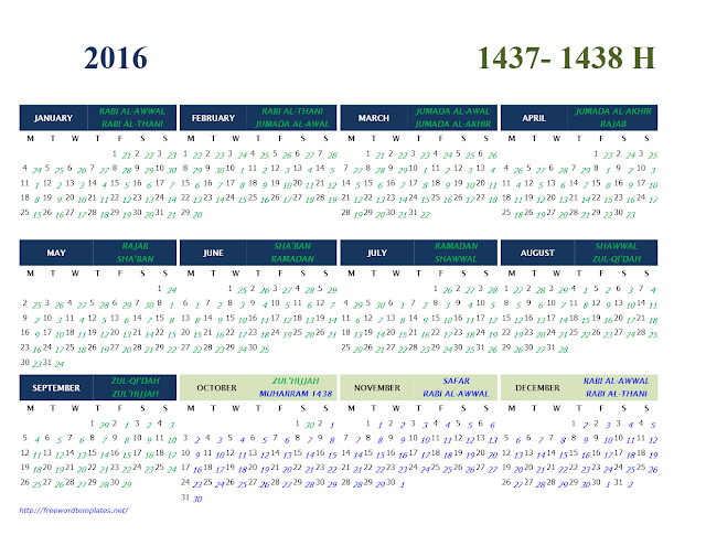 Religious Holidays Calendar Download | Perpetual Calendar In Excel