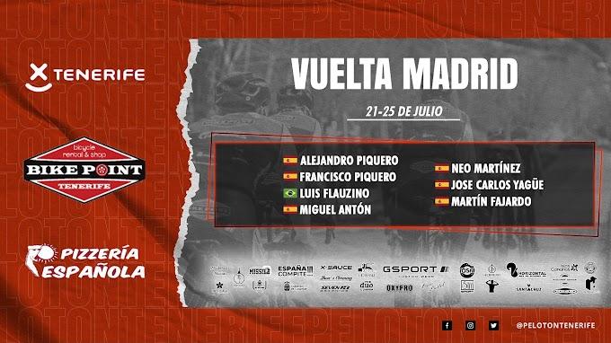 El Tenerife BikePoint Pizzería Española llega con toda la motivación e ilusión a la Vuelta a Madrid