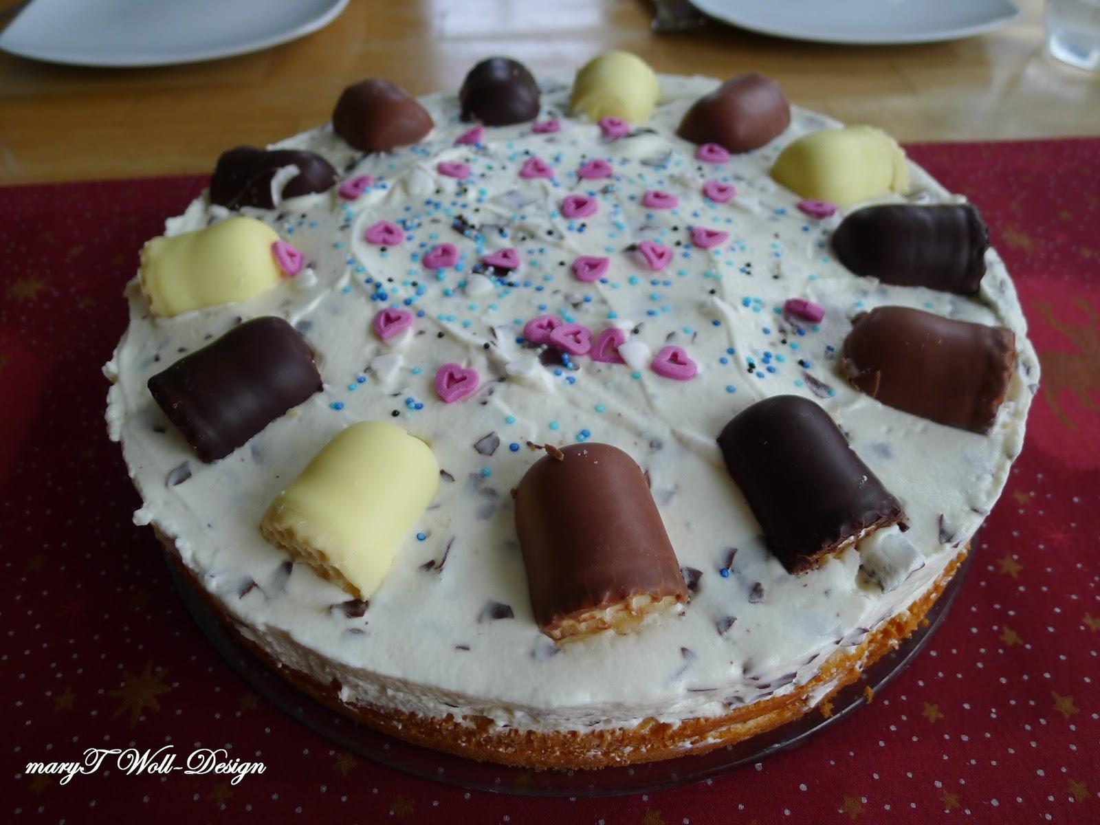 Maryt Woll Design Leicht Gemacht Schokokuss Torte