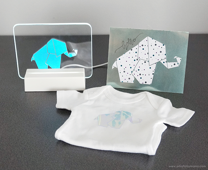 Elephant-Themed Baby Gift Set