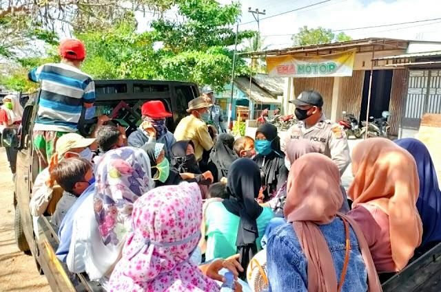 Operasi Yustisi, Kapoles Lotim : masih banyak pengendara tidak gunakan masker