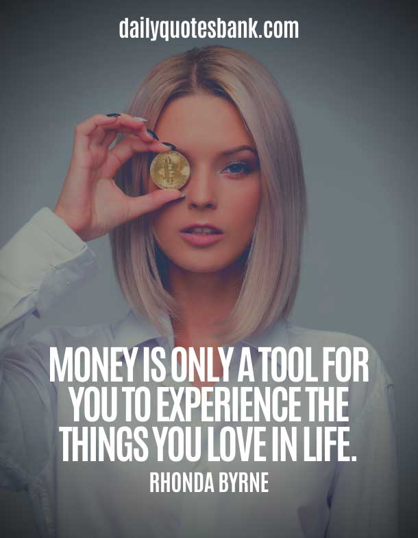 Rhonda Byrne Quotes On Money